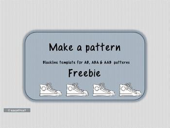 Make a pattern Freebie