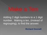 Make a ten for adding