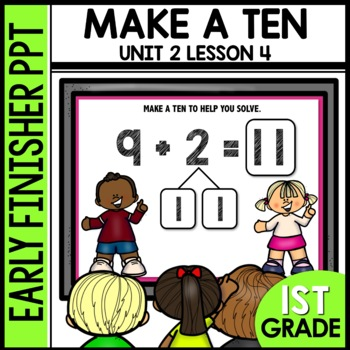 Make a ten to SOLVE EARLY FINISHER POWERPOINT