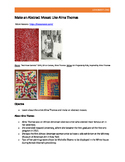 Make an Abstract Mosaic Like Alma Thomas