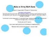 Make an Array Multiplication Math Game and Activity
