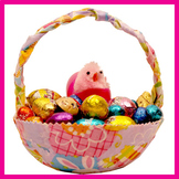 Make an Easter Basket with fabric remnants
