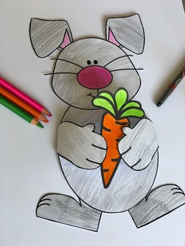 Make an Easter Bunny 3D Craft