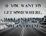 Make an Effort - poster