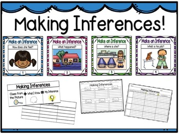 Make an Inference Picture Cards!