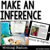Make an Inference Writing Station