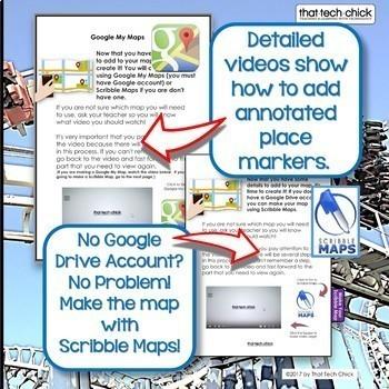 Interactive Digital Map--Take a Roller Coaster Road Trip!