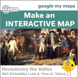 Google Digital Maps - American Revolutionary War