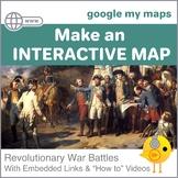 Google Digital Maps - American Revolutionary War