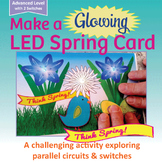 ADVANCED LED Spring Card | STEM, Science, STEAM, Circuits | Maker Space Activity