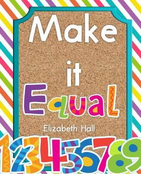 Make it Equal