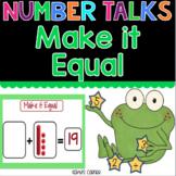 Make it Equal - Number Talks