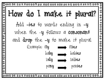 Make it Plural!