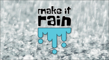 Make it Rain Educational Tabletop Game and Lesson Plan, Compete