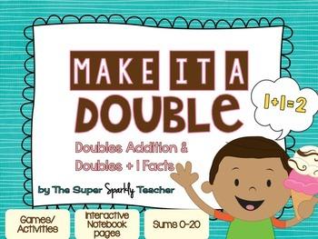Make it a Double (Doubles & Doubles +1 Facts)
