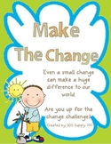#2forFebruary Make the Change - An Earth Day Challenge