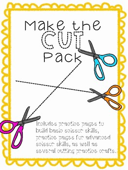 Make the Cut - Cutting Practice Pack