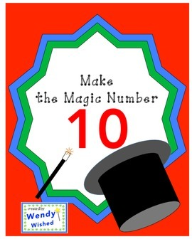 Make the Magic Number 10:  Sum of ten, Add to 10 CCSS Worksheets
