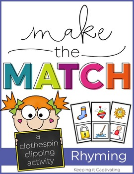 Make the Match {Rhyming}