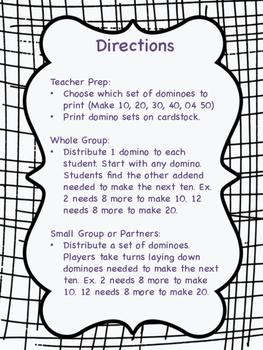 Make the Next Ten Dominoes