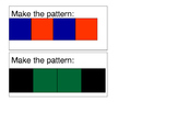 Make the Pattern Work Task