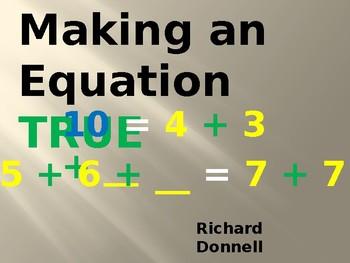 Make the equation true