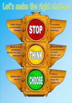 Make the right decision traffic lights