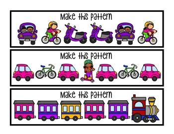 Make this Pattern - Transportation
