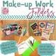 Back to School Make-up Work Folders