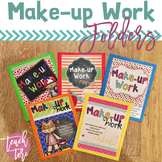Back to School Make-up Work Folders
