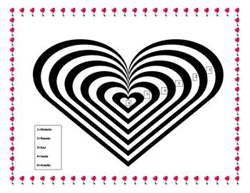 Valentine's Day -Spanish Adjectives Friendship Phrases & Make Valentine Cards