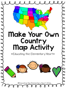 Make your Own Country Map