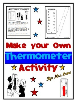 Make your Own Thermometer Activity