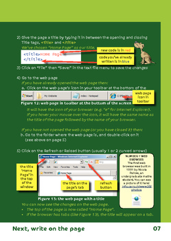 Make your first web page