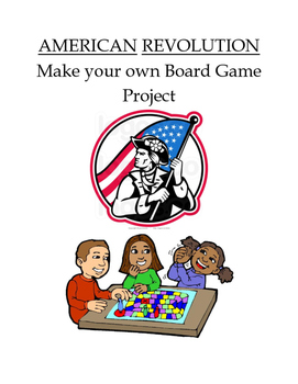 Make your own American Revolution Board Game