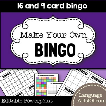 Make your own Bingo Game