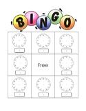 Make your own Clock Bingo