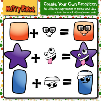 Create Your Own Emoji - Clip Art