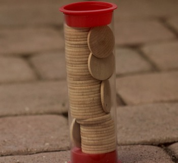 "Make your own Games with 1"" Wood Circles"