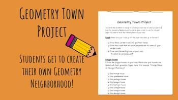 Make your own... Geometry Town Project!