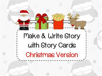 Make your own Story Lesson Plan Christmas Cut and Paste
