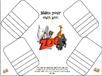 Make your own Zoo - AR Augmented reality lesson. ESL Science