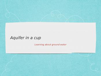 Make your own aquifer
