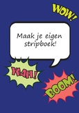 Make your own comic book DUTCH EDITION (maak je eigen stripboek)