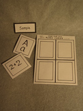 Make your own flash cards. Fun Craft Art. FREE