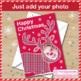 Christmas Art Activity - fun selfie reindeer card