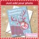 Christmas Art Activity - Selfie Reindeer Cards