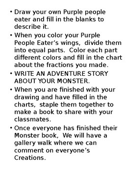 Make your own monster project