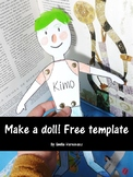 Make your own paper doll! FREE TEMPLATE