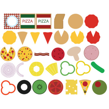 Make your own pizza clip art